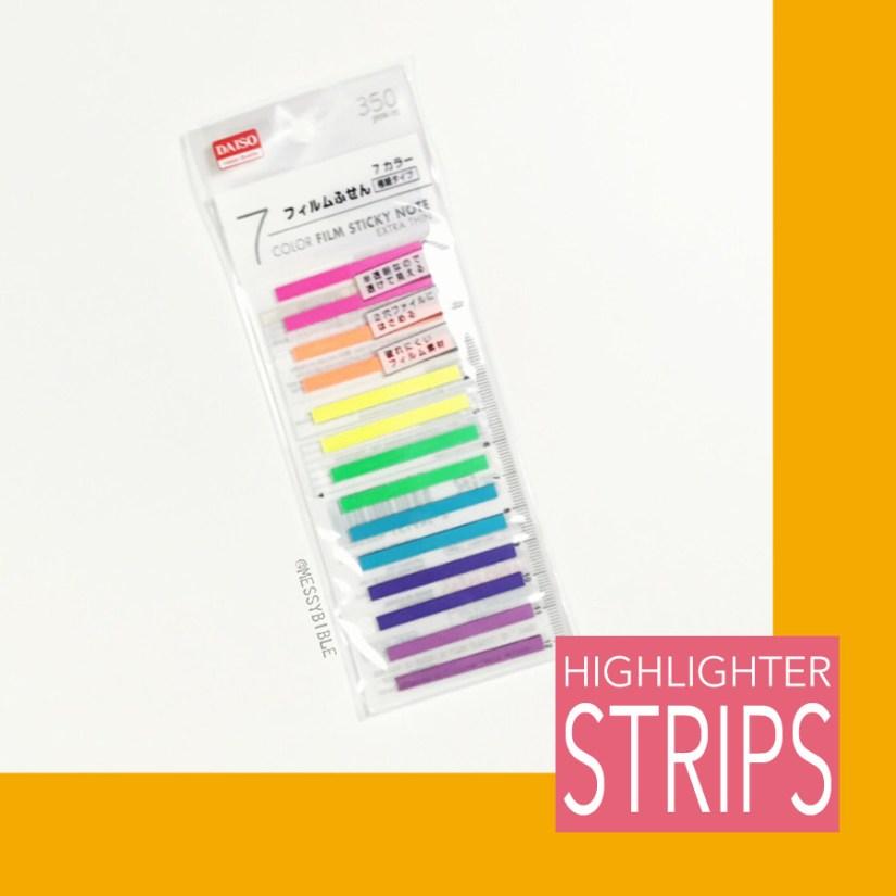 Highlighter Strips