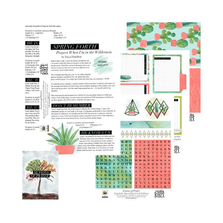 Spring Forth - Seasons of Prayer (Digital Kit) 6012