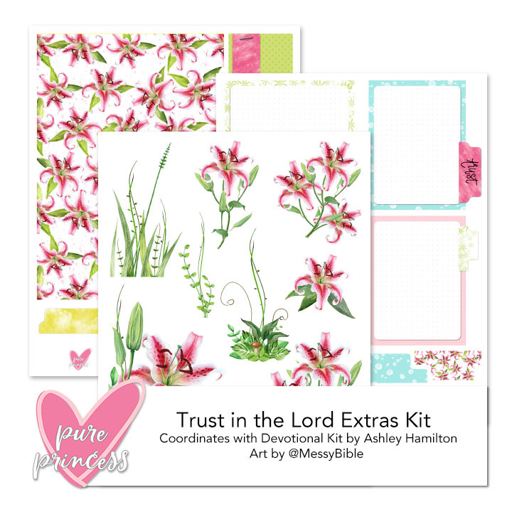 Trust in the Lord Extras Kit (Digital Kit) - FUNDRAISER! 6015