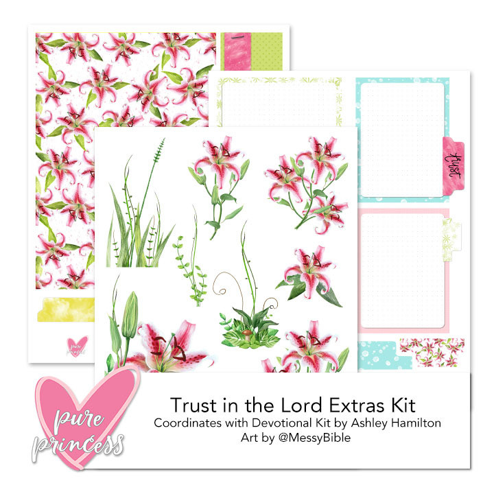 Trust in the Lord Extras Kit (Digital Kit) - FUNDRAISER!