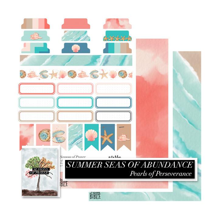 Summer Seas of Abundance - Seasons of Prayer EXTRAS (Digital Kit)