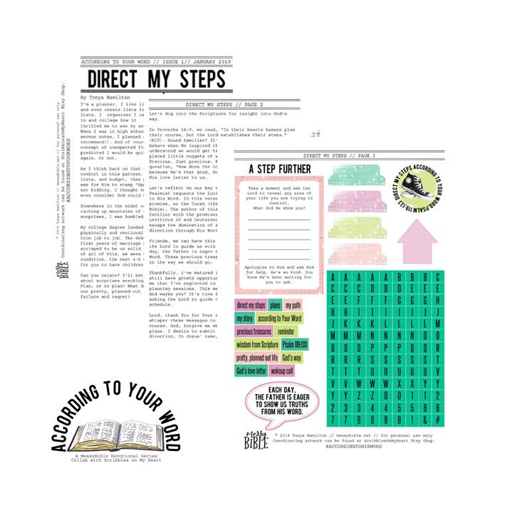 Direct My Steps Devotional Kit (Digital Kit) 6000