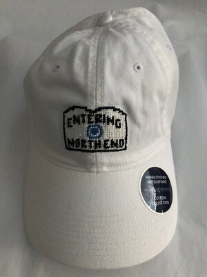 Entering North End Baseball Cap - White