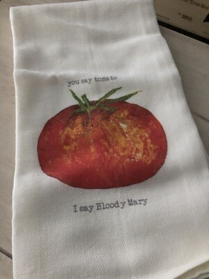 You Say Tomato Dish Towel