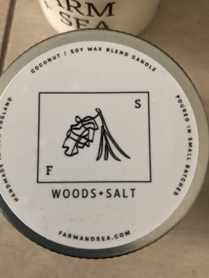 Woods & Salt Candle - 3.5 oz.