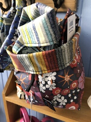 Reversible Fabric Tubs - Assorted Colors