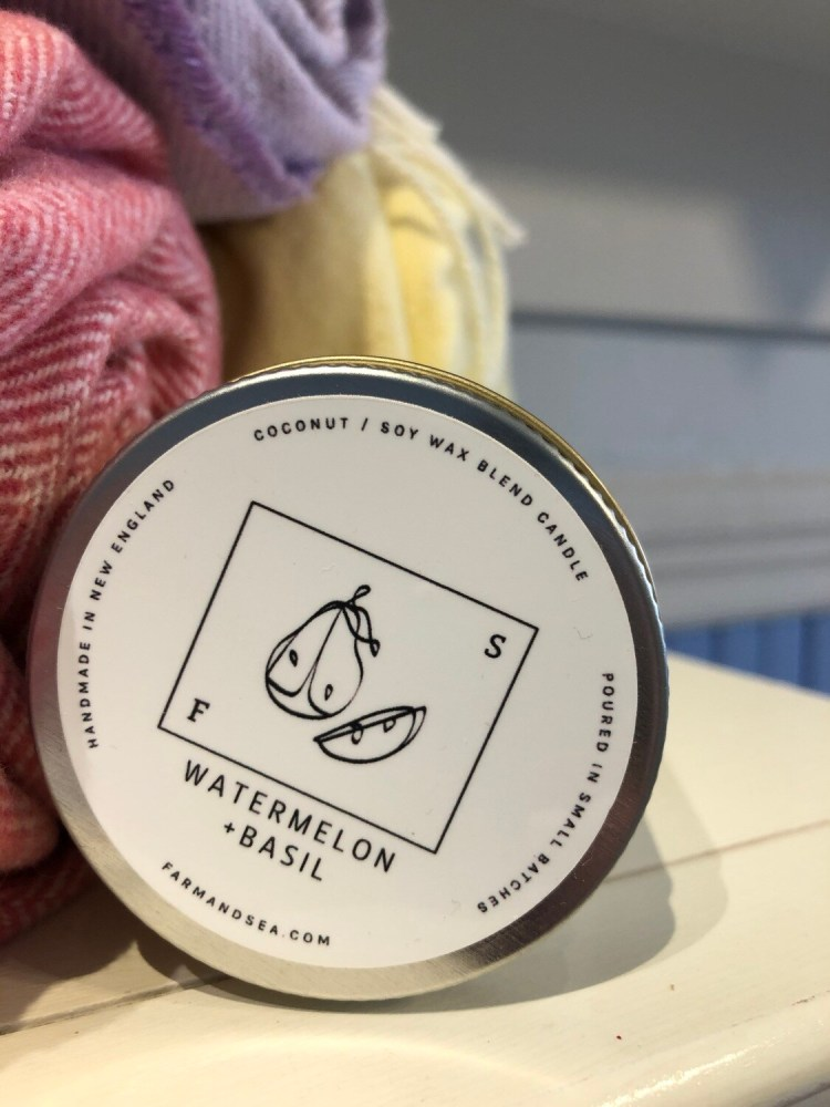 Watermelon & Basil Candle - 7.5 oz.