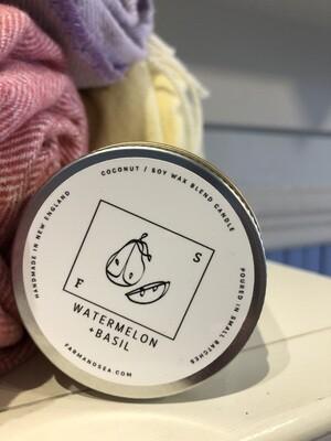 Watermelon & Basil Candle - 3.5 oz.