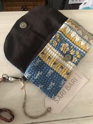 Protima Wallet - Blue & Yellow