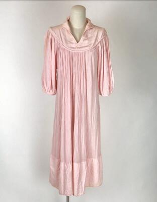 70's Gauze Peasant Dress