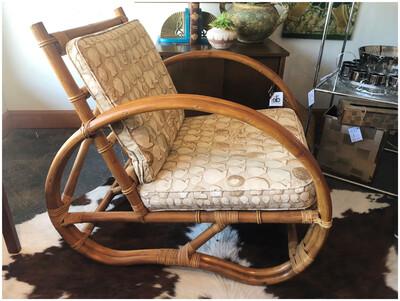 Mid Century Rattan Chair