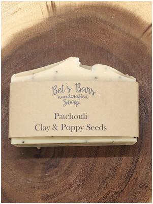 Patchouli Clay & Poppy Seeds