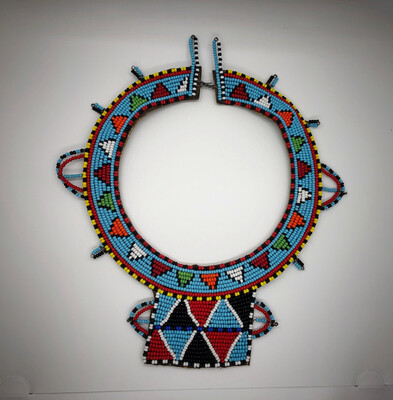 Beaded Indian Necklace