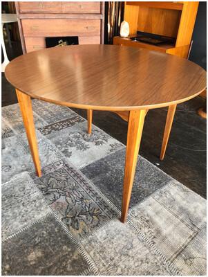 Mid Century Round Dining Table