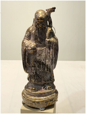Gold Asian Figurine