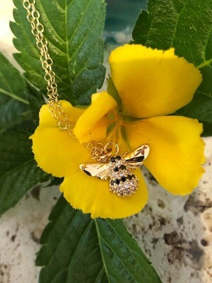 14kt. Gold Filled & Gold Plated Bee Necklace