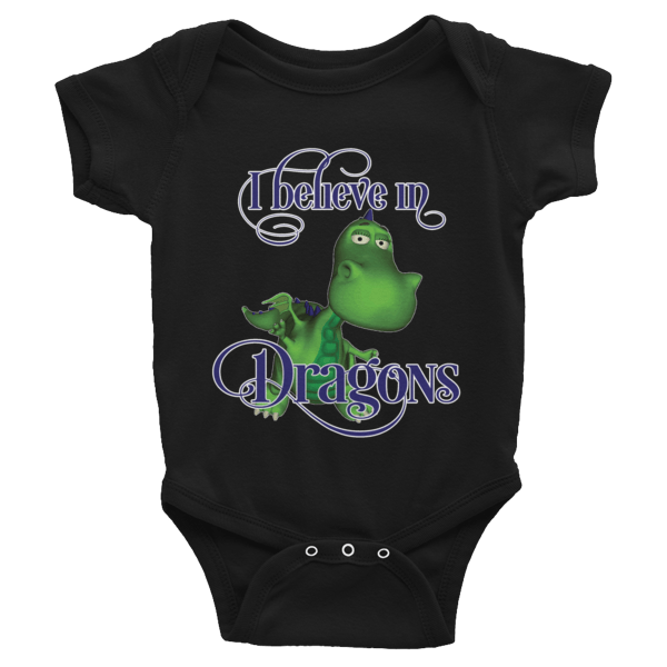 Gus the Garden Dragon Infant Bodysuit 00028