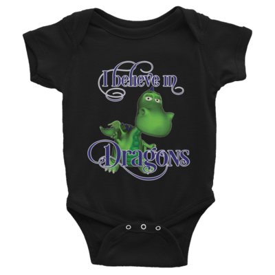 Gus the Garden Dragon Infant Bodysuit