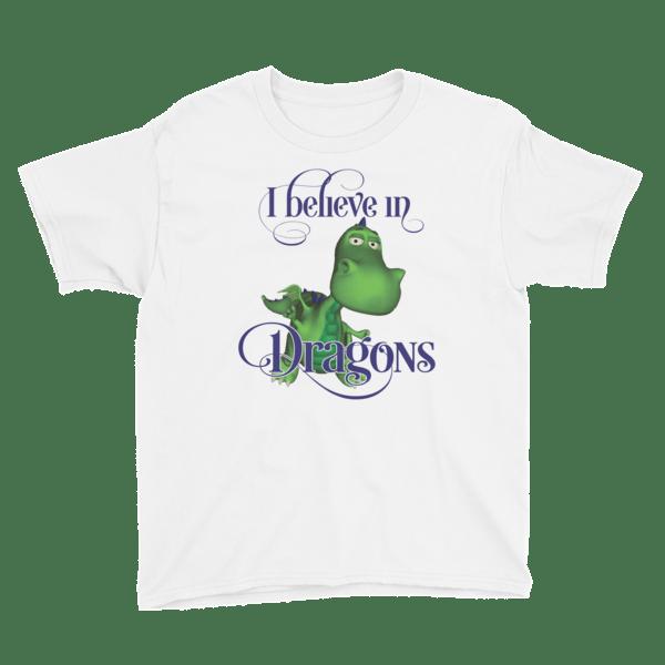 Gus the Garden Dragon Youth Short Sleeve T-Shirt 00029
