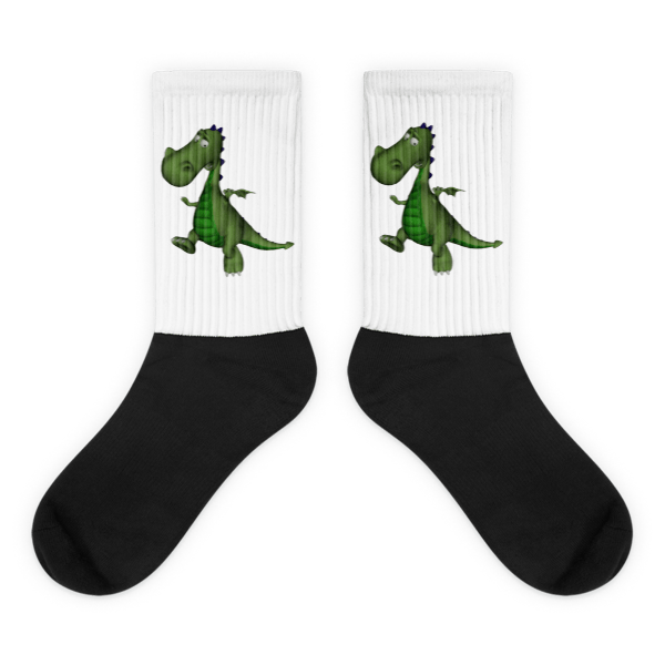 Gus the Garden Dragon Socks 00032