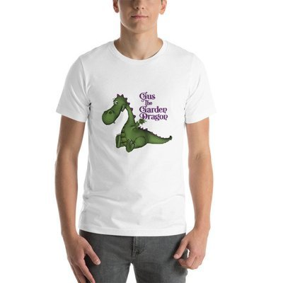 Gus the Garden Dragon Short-Sleeve Unisex T-Shirt