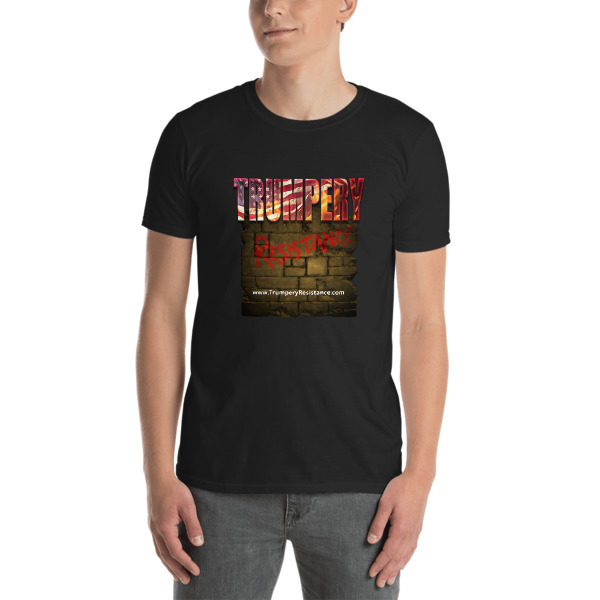 Trumpery Resistance #resist Short-Sleeve Unisex T-Shirt 00050
