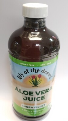 Lily Of The Desert Aloe Vera Juice Dietary Supplement, 16 Oz