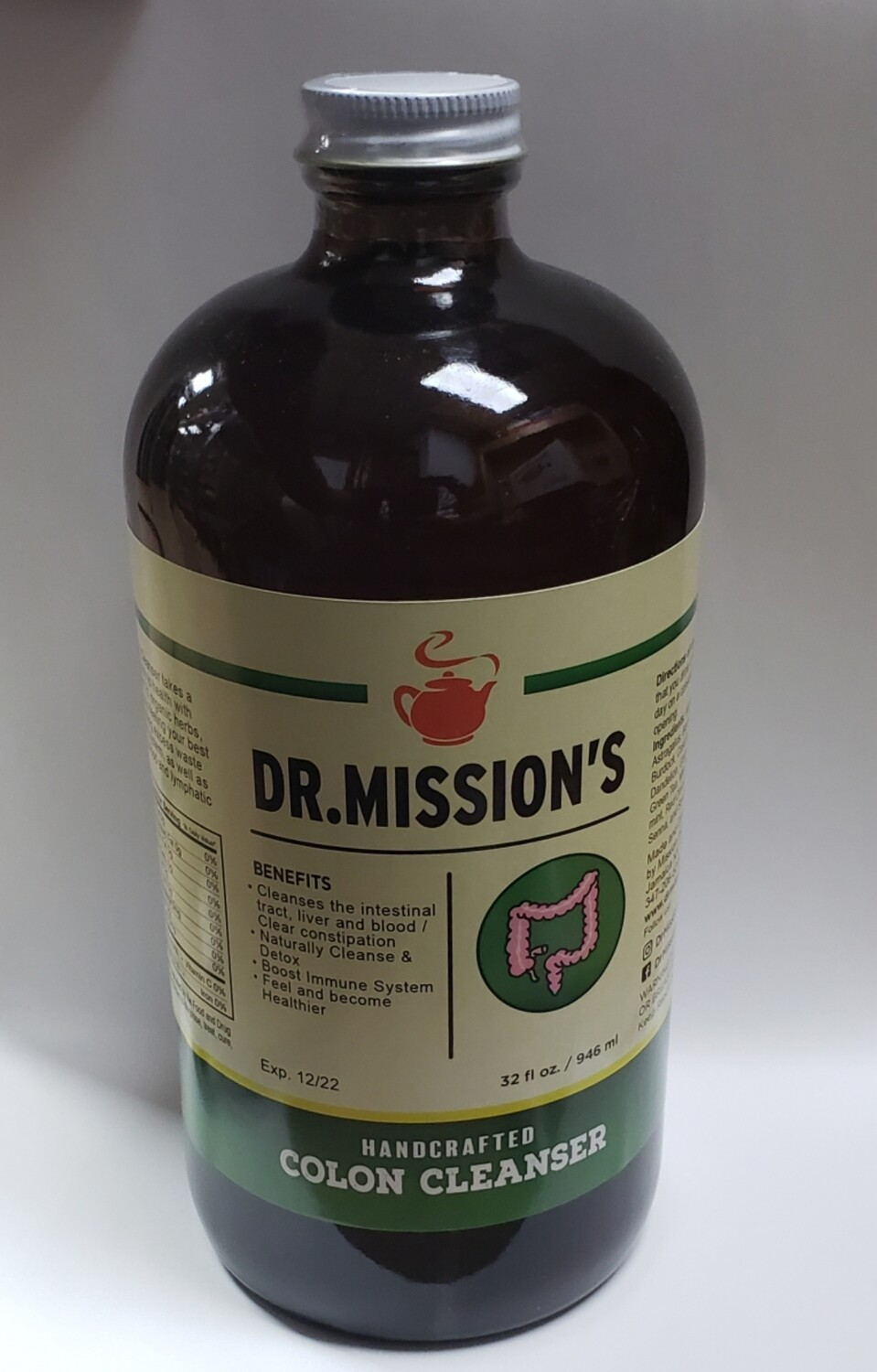 Dr. Mission's Handcrafted Colon Cleanser 32oz