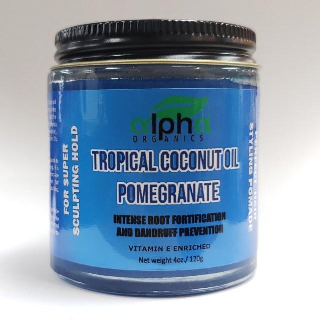 Alpha Organics-Tropical Coconut Oil Pomegranate