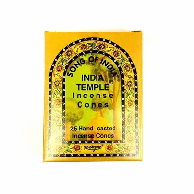 Song of India: Indian Temple Cone Incense
