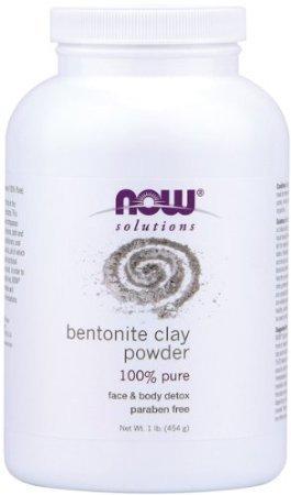 Now Bentonite Clay Powder - 1 lb