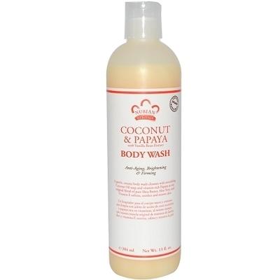 Nubian Heritage Coconut and Papaya Body Wash (13 oz)