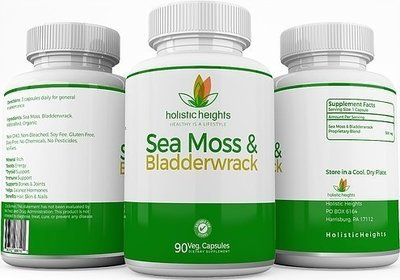 Holistic Heights - Sea Moss & BladderWrack