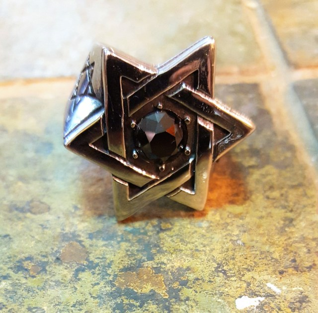 Shield of David Men's Rings