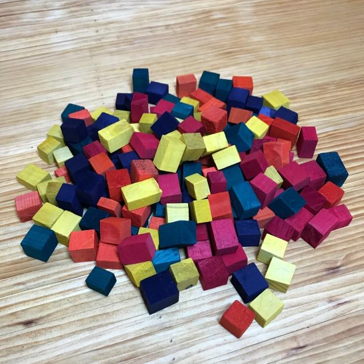 Colored Mini Hunk Blocks
