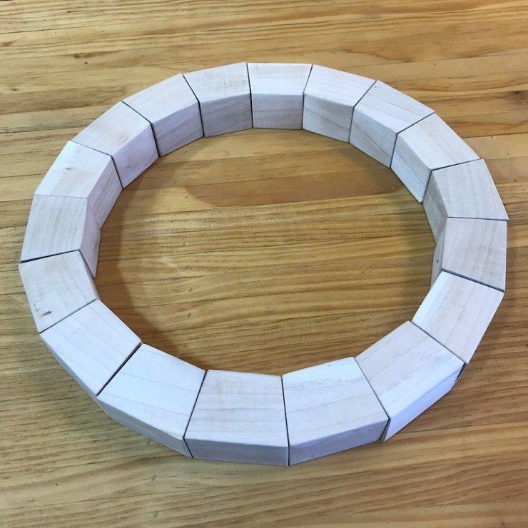 Ten Degree Arch Blocks