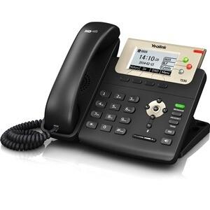 Yealink SIP-T23G IP Phone - Corded - Corded - Wall Mountable - Black - 3 x Total Line - VoIP - Caller ID - Speakerphone - 2 x Network (RJ-45) - PoE Ports - SIP, RTCP XR, LDAP, STUN, DHCP, SNTP, SRTP,