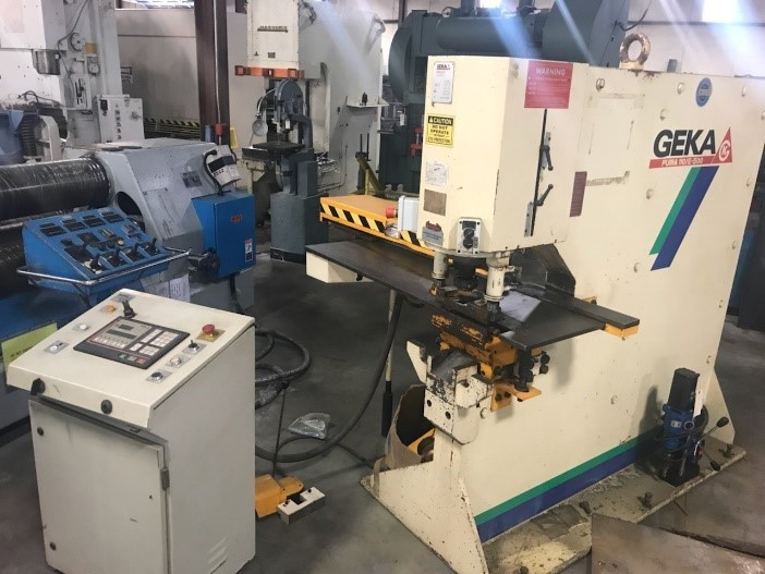 1 – USED GEKA PUMA IRONWORKER WITH SEMI-PAXY C-5752