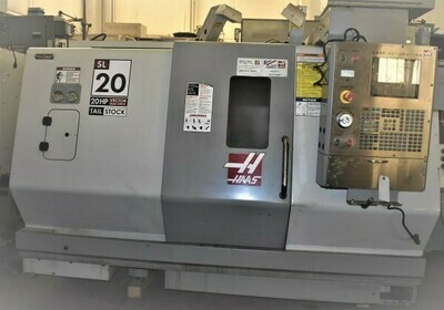"""1 - USED 23"""" X 24"""" HAAS VECTOR DUAL DRIVE CNC TURNING CENTER"""