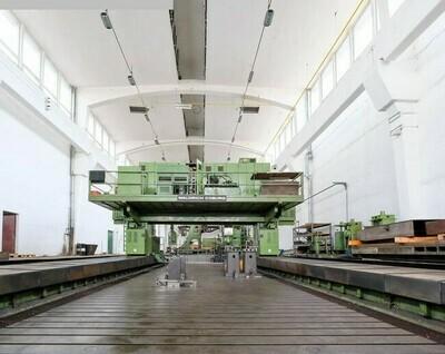 "1 – USED 965"" X 246"" WALDRICH COBURG CNC GANTRY MILLING MACHINE"