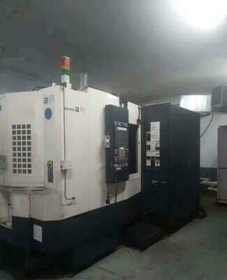70 - USED MAKINO A51 CNC HORIZONTAL MACHINING CENTER