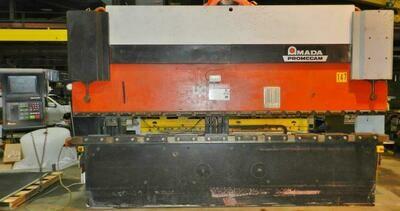 1 – USED 138 TON AMADA PROMECAM CNC PRESS BRAKE