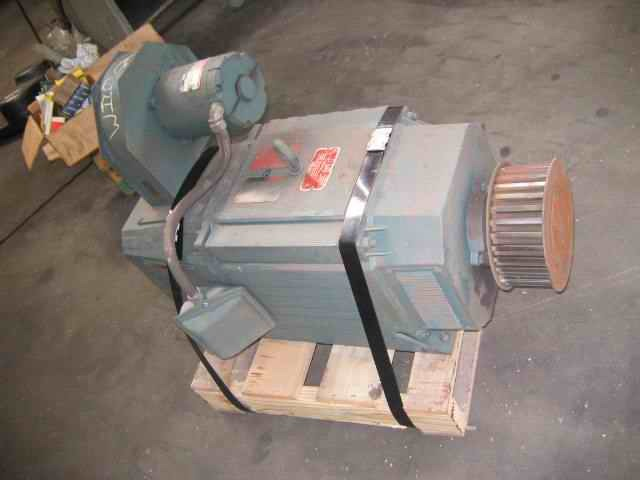 1 – USED 25 HP RELIANCE MAXPAX PLUS REGENERATIVE DC VARI-SPEED DRIVE 14314