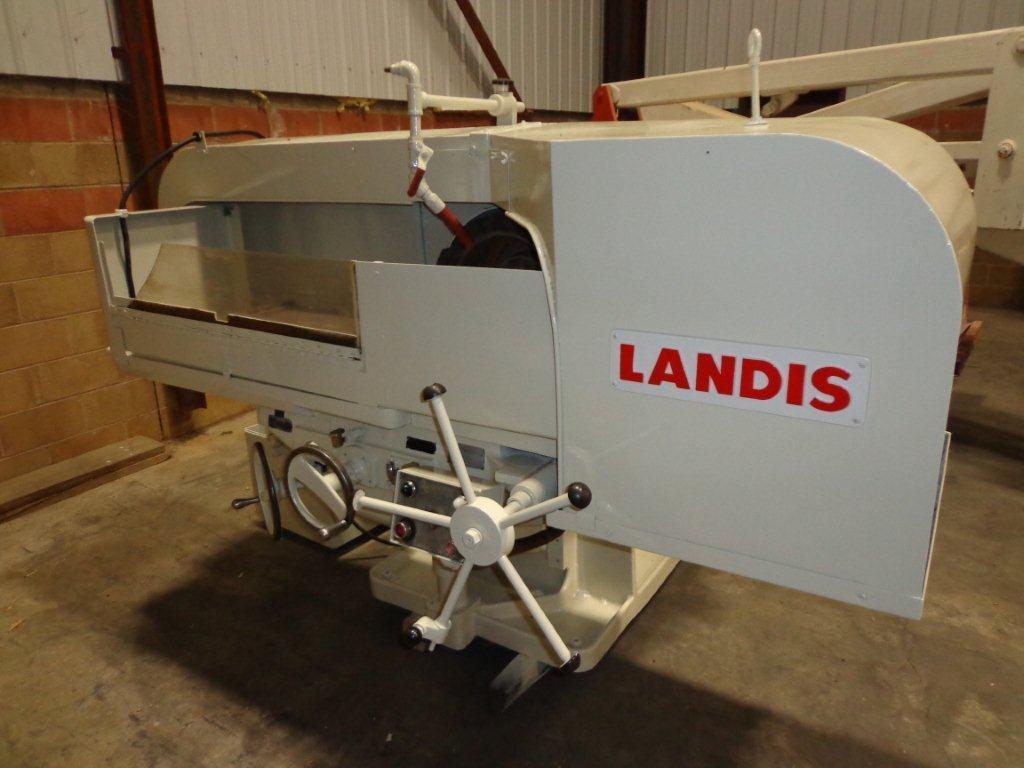"""1 - USED 18"""" LANDIS-ABRASIVE FACE GRINDER 14476"""