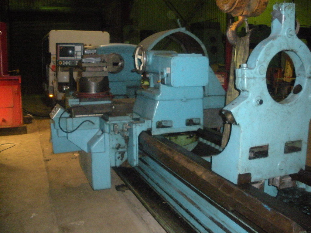 "1 - USED 50"" X 132"" MONARCH 4025 FLAT BED CNC LATHE C-4089"