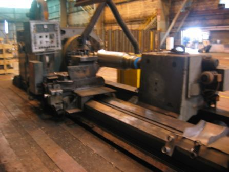 "1 – USED 55"" X 250"" HERKULES SUPER HEAVY DUTY MANUAL OR CNC LATHE C-4087"