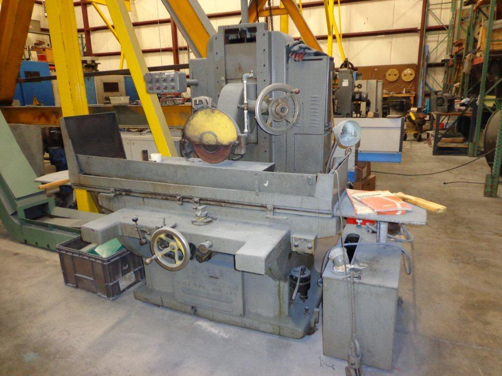 "1 - USED 16"" x 36"" GALLMEYER & LIVINGSTON HYDRAULIC FEED HORIZONTAL SPINDLE SURFACE GRINDER C-3718"