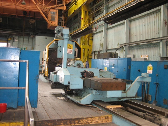 "1 – USED 72"" X 528"" CRAWFORD SWIFT HOLLOW SPINDLE CNC LATHE"