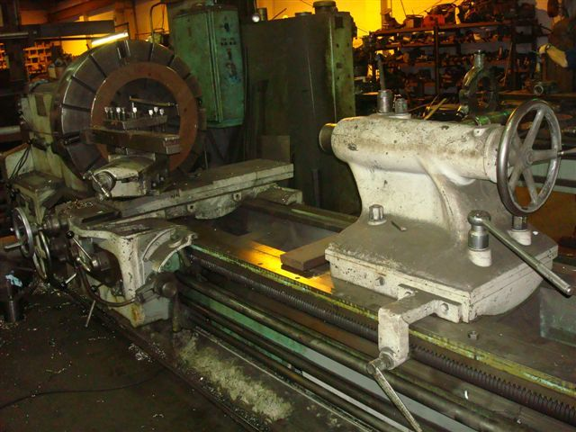 "1 - USED 39/44"" X 16' WMW HEAVY DUTY ENGINE LATHE"