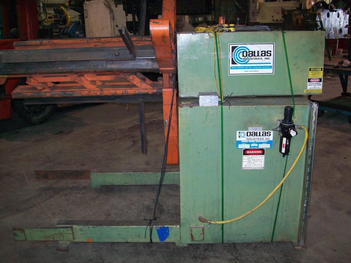 1 – USED MODEL DCR-8000X36-LH DALLAS PLAIN COIL REEL 14354